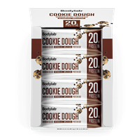 Bodylab Minimum Deluxe Protein Bar (12 x 65 g) - Chocolate Chip Cookie Dough