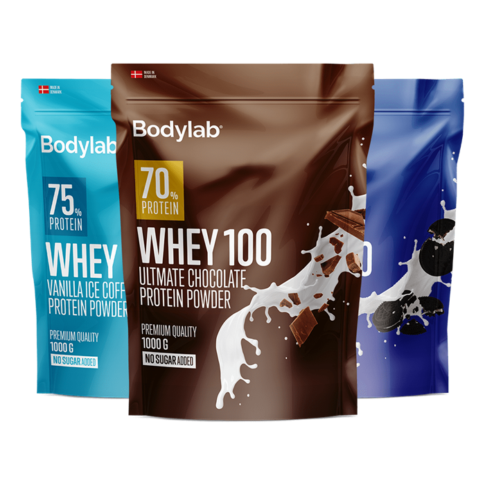 Whey 100 sortiment