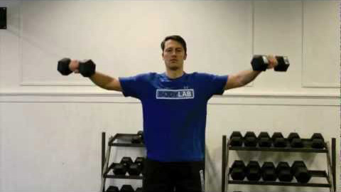 Dumbbell Side Laterals